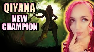 Qiyana NEW Champion Teaser | Empress of the Elements - League of Legend Reaction