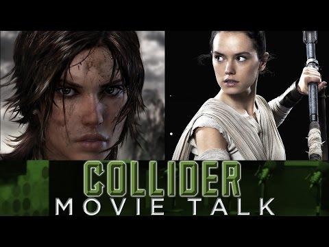 Collider Movie Talk - Daisy Ridley To Play Lara Croft In Tomb Raider Movie?