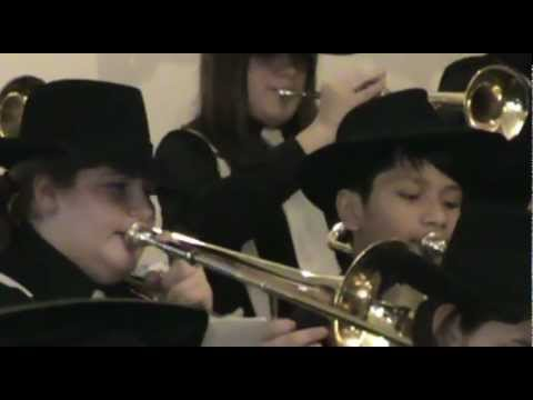 Hudson Middle School Jazz Band 12-19-12 Jingle Bell Rock