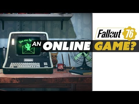 FALLOUT 76 is an ONLINE Game? - Game News