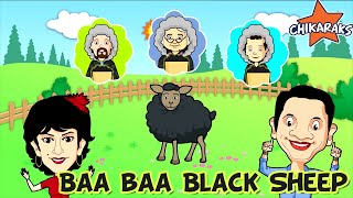Baa Baa Black Sheep - Nursery Rhymes For Children | Chikaraks