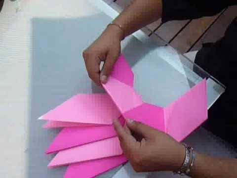 Aprendiendo la papiroflexia: un rehilete