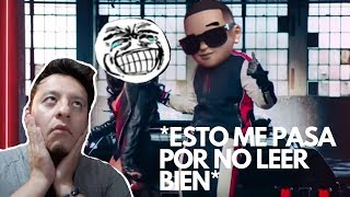 Daddy Yankee & Snow - Con Calma (Video Oficial) /REACCION/ EL MAIC TV