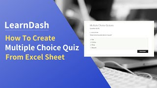 How to: multiple answer quiz type in LearnDash