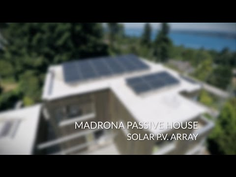 Madrona Passive House | Solar PV Array