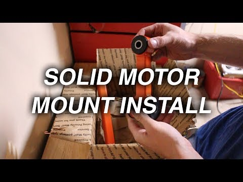 Installing Solid Motor Mounts on the SRT-4 | Before and After