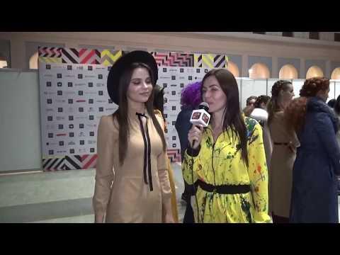 Интервью на Moscow Fashion Week 2019  -   модель Виктория Гиевская