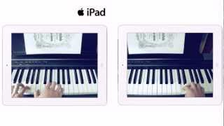 Apple iPad mini TV Ad - Heart and soul (piano cover by @andrixbest w/ tutorial)