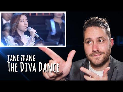 Jane Zhang - The Diva Dance   REACTION