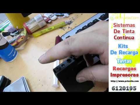 Recarga Cartuchos 950/951 Tecnica De Recarga PcTuxtla.Com