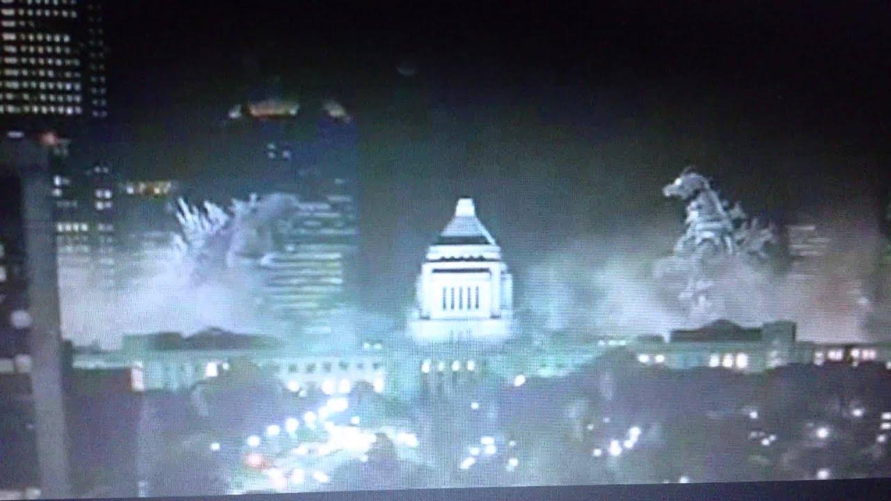 Godzilla Tokyo S O S Scene Youtube