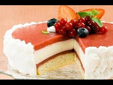 Торт йогуртовый как сделать
