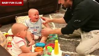 Funny Baby Sibling