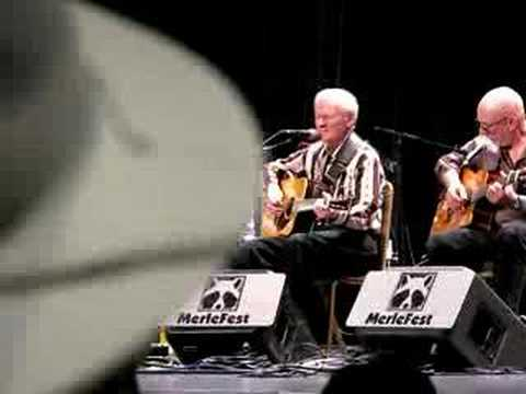 Deep River Blues - Doc Watson Merlefest 2008