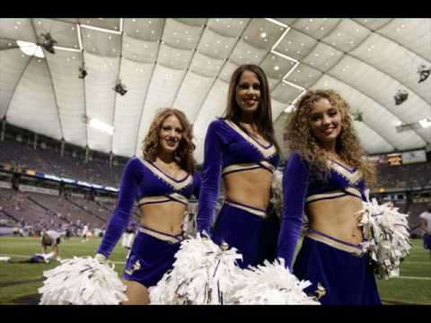 Minnesota Vikings Cheerleaders Tribute