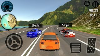 Real Turbo Car Racing 3D (by Tech 3D Games Studios) Android Gameplay [HD]