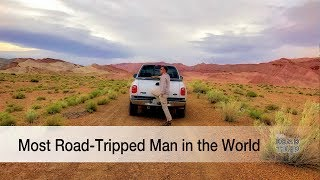 Most Road Tripped Man in the World - Mike Shubic of MikesRoadTrip.com