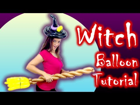 Balloon Witch Costume!