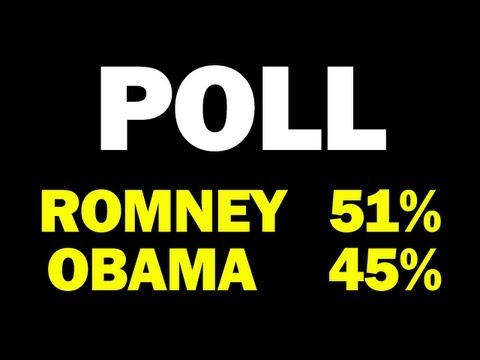 Gallup National Poll Has Gov Romney 51% And Pres Obama 45% -- 2.5 Weeks Until Election!!! -- Report