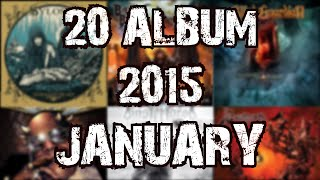 20 METAL ALBUM JANUARY 2015