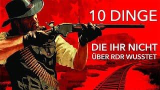 10 Dinge, die ihr nicht über Red Dead Redemption wusstet