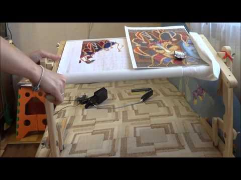 Станок для вышивки видео ютуб