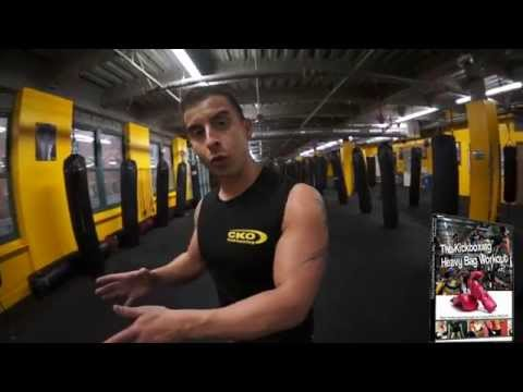 KICKBOXING HEAVY BAG WORKOUT VIDEO DVD WITH MICHAEL ANDREULA Image 1