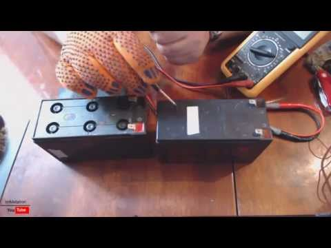 Самодельный аккумулятор на 12 вольт