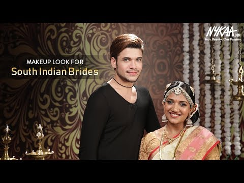 Indian Bridal Makeup Tutorial with Dr. Daddy Delicious | South Indian Bridal Look