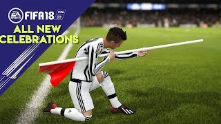 FIFA 18 ALL NEW CELEBRATIONS TUTORIAL   Xbox and Playstation