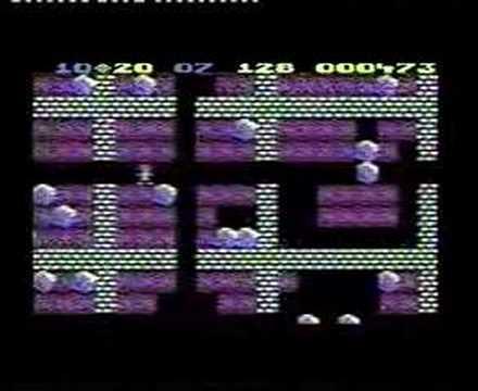 Atari 800 XL - Boulder Dash
