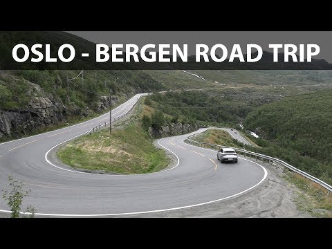 Mercedes EQC Norway road trip part 1