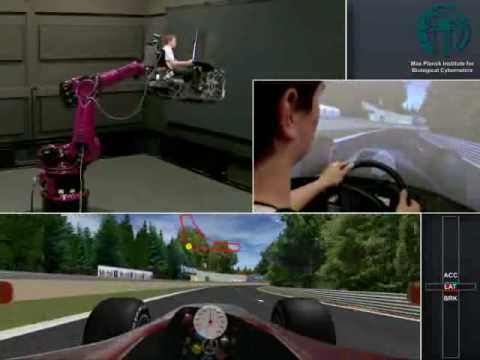 Engineers Turn Robot Arm into F1 Ferrari Simulator