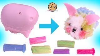 DIY Fluffables Rainbow Bunny Rabbit with Surprise Blind Bag - Do It Yourself Kid Craft