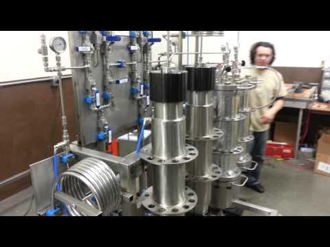 Eden labs HI-FLO Super  Critical CO2 in action