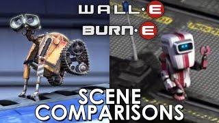 WALL·E and BURN·E - scenes comparisons
