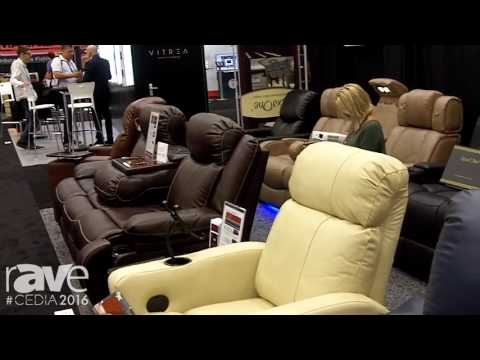 CEDIA 2016: RowOne Offers a Variety of Leather, Leather Matched Home Cinema Seating