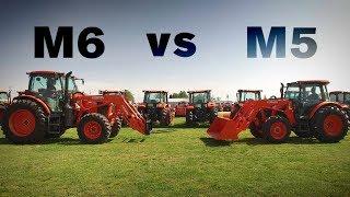 Kubota M Series Tractor Comparison: M5 vs M6