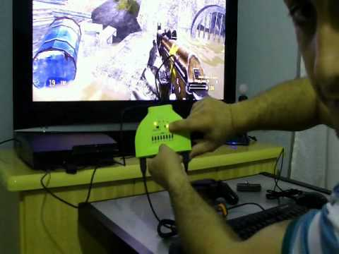 [Max Shooter PS3] - Config e Review. Teclado(keyboard) e Mouse PS3