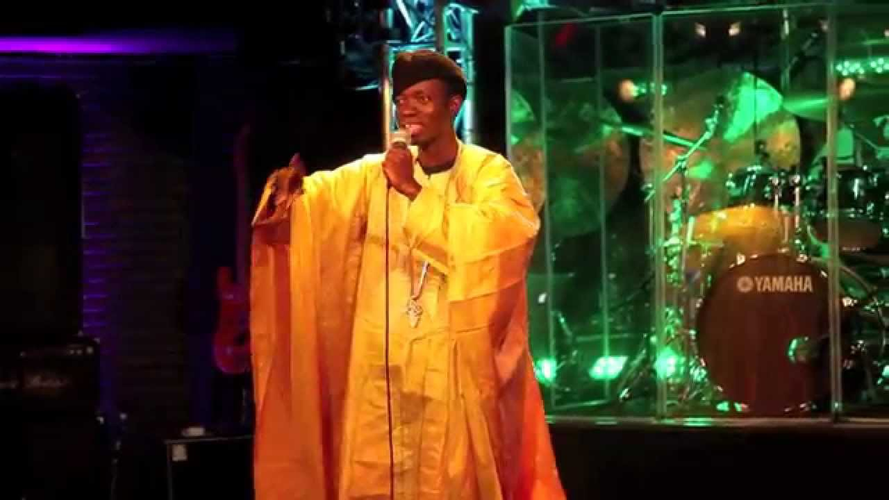 BET Comedian Michael Blackson behind the comedy - YouTube
