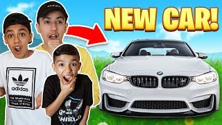 My New Car Reveal With Brothers! First Vlog! (BMW M4)
