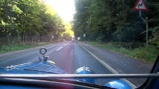 1928 Bugatti type 40 ride Skodsborg