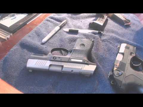 Ruger SR9c vs Beretta PX4 Storm subcompact (9mm)