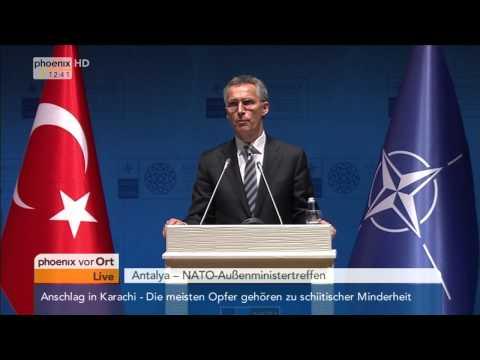 NATO-Tagung: Jens Stoltenberg zum Friedensprozess in Afghanistan am 13.05.2015