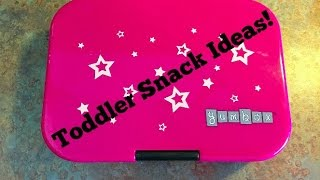 Toddler Snack Ideas | Featuring YumBox!