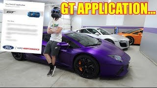 Ford Emailed me about my GT Application...