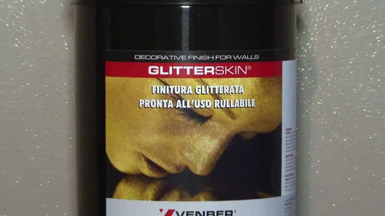 GLITTER SKIN FINITURA GLITTERATA PRONTA ALLUSO - YouTube