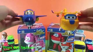 Cars Tool car toys and Robocar Poli with surprise eggs play