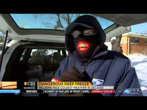 Polar Vortex: The Phrase On Every Reporter's Frozen Lips
