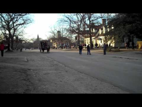 Christmas Holiday in Colonial Williamsburg